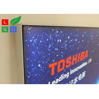 China Electric Store LED Textile Light Box ,  Light Guide Plate Backlit Slim Light Box wholesale