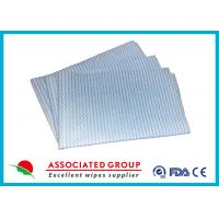 China Household Printing Multi Purpose Cleaning Wipes , Disposable Spunlace Nonwoven Wipes wholesale