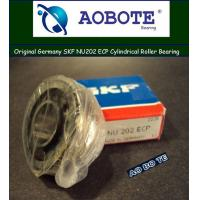 China SKF NU202 ECP Cylindrical Roller Bearings ZZ with Single Row and Heavy Load wholesale