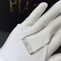 China Messika diamonds necklace 18kt  gold  with yellow gold or white gold or  pink gold wholesale