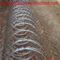 China razor barbed wire manufacturers/razor wire vs barbed wire/razor wire law/razor wire fence manufacturers wholesale