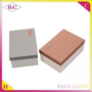 China Handmade paper shoe box wholesale