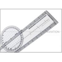 China Durable Plastic Pilot Flight Ultimate Rotating Plotter with Nautical-statute Conversion Scale # CP-R wholesale