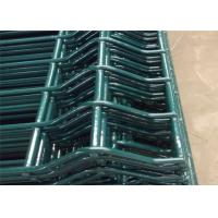 China Poultry House Pvc Coated Welded Wire Mesh Fencing Galvanized With Post wholesale