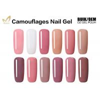 China High Gloss Finish Camouflage Nail Gel For Gel Nails No Fade No Smudging wholesale