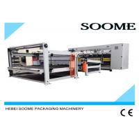 China 160 PCS / Min Computerized Slitter Scorer Maccardboard Slitting Machine With Stacker And Paper Collection wholesale