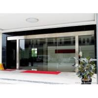 China Silver Sliding Entrance Door / Automatic Storefront Doors With Touch Switch wholesale
