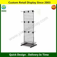 China Knock Down Retail Heavy Duty Wire Metal Display Racks Shelf / Storage Shelving YM6-072 wholesale