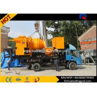 Quality ISO/CE/BV/ROHS Concrete Mixer Pump Truck 8Mpa Outlet Pressure 100kw Generator for sale