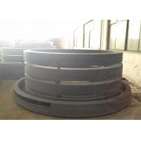 China DIN ASTM EN Hydraulic Rolled Ring Flange With ingot smelting , carbon / alloy Steel forgin wholesale