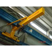 Compacted Frame Wall Traveling Truck Jib Cranes For Fitting & Fabrication Workstation