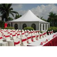China Eco friendly Coated PVC tarpaulin tent , Event / Party / Banquet PVC tents on sale