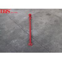 China Powder Coating Adjustable Shoring Posts Formwork Push Pull Props Red Color wholesale