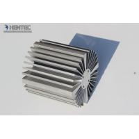 China 6063 - T5 Aluminum Heatsink Extrusion Profiles Powder Spray Coated wholesale