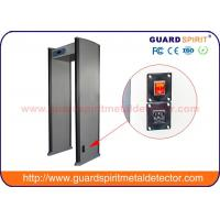 China Attractions Security Door Metal Detector Multi Zone Metal Detector wholesale