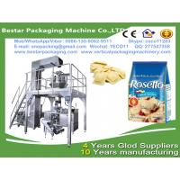 China frozen ravioli packing machine with MultiHead Weigher Filling VFFS premade bag Machine wholesale