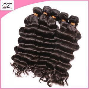 China Can be Perm Real Human Hair Wholesale Long Lasting Peruvian Deep Wave Virgin Hair on sale