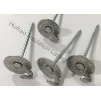 """China 2-1 / 2"""" Stainless Steel Lacing Insulation Anchor Pins For Fastening Lagging To Exhaust Systems wholesale"""