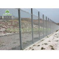 China Sturdy 358 Security Fence / Galvanised Security Fencing For Factory Machine Guards wholesale