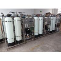 0.75T/H RO Water Treatment System , Automatic Reverse Osmosis Water System For for sale