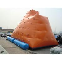 China Inflatable Water games / inflatable water iceberg / climbing tower air tight pvc tarpaulin wholesale