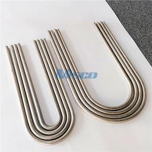 China ASTM A213 / ASME SA213 Small Diameter S30403 Stainless Steel U Bend Tubing on sale