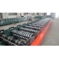 Quality Building Meta Closed Mouth Floor Deck Roll Forming Machine 0.8-1.6mm Thickness for sale