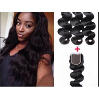 China Professional peruvian deep wave virgin hair 28 Inch Hair Extensions on sale