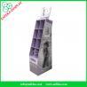 Buy cheap Point of sale merchandising display rack 8 pockets Custom cardboard display from wholesalers