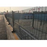 China 358 anti-climped wire fence security welded fence wholesale