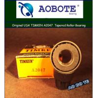 China ABEC-5 Timken Taper Roller Bearings A2047 , Open Low Friction for Car wholesale