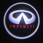 China Infiniti emblem door logo light 12v 3w LED Door Projector Lights with car badge wholesale