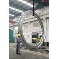 China 306 306L SS Forged Stee Ring Flange Forging , Large Diameter wholesale