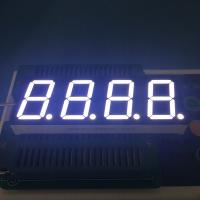 China Common Anode 4 Digit Seven Segment Display 2.8-3.3V/ Led For Temperature Controller wholesale