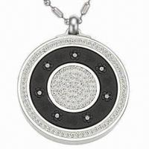 China Pendant Necklace, Lava Stone Pendants, Quantum Scalar Energy Pendant with Crystal Stones on sale