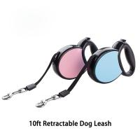 China Heavy Duty Retractable Dog Leash , Ergonomic Flexi Retractable Cord Dog Leash on sale
