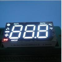 China Ultra White /Red 3 Digit Multiplexed Seven Segment Display Led Cathode for Heating on sale