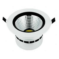 """China COB 15 Watts 4500K 6"""" Epistar Commercial Led Recessed Downlights For Dining Room wholesale"""