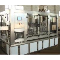 Wholesale SUS304 Material Water Bottle Filler Machine , 8000 Bottles Per Hour Water Filling Equipment from china suppliers