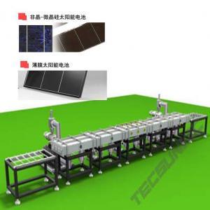 China Linha de produção de células solares de silício amorfo wholesale