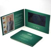 China Customized Size Video Brochure Card , Lcd Video Brochure For Birthday Gift on sale