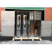 1TPH Water Purification Industrial Reverse Osmosis System Containerized Water for sale
