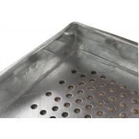 China Metal Perforated Aluminum Wire Mesh Tray For Food Industries , 600X400 Size wholesale