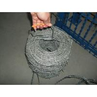 Wholesale Double Twisted Galvanized Barbed Wire Coil Spike Wire Fence Iron Wire Material from china suppliers