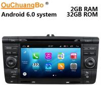 Buy cheap Ouchuangbo auto gps navi audio S200 platform android 8.0 for Skoda Octavia from wholesalers