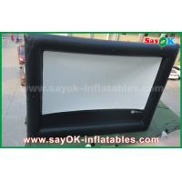 China Inflatable air cinema , Outdoor Giant Inflatable Movie Screen for Advertising / Amusement wholesale