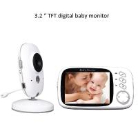 China 3.2 inch Color Wireless Video Baby Monitor 2 Way Talk Night Vision wholesale