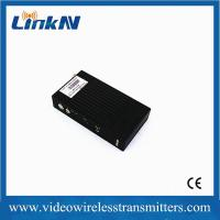 5km LOS transmission COFDM HD wireless transmitter with H.264 video compression