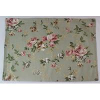 China Anti Slip Waterproof 250gsm Canvas Cotton Dining Room Placemats ISO9001 wholesale