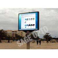 China High Resolution Advertising LED Display Screen Full Color Sage Pixel 6 MM wholesale